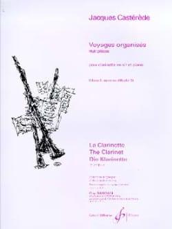 Jacques Casterède - Voyages organisés - Volume 2 - Partition - di-arezzo.fr