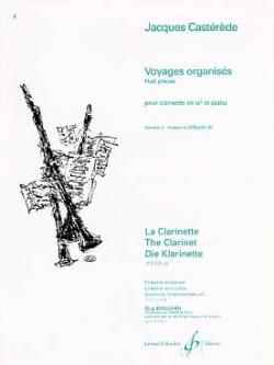 Jacques Castérède - Voyages organisés - Volume 3 - Partition - di-arezzo.fr