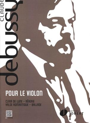 Pour le violon DEBUSSY Partition Violon - laflutedepan