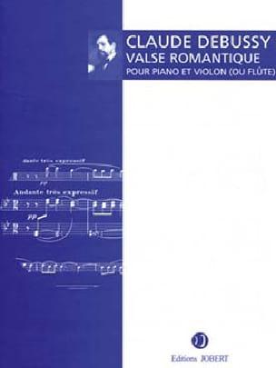 Claude Debussy - Valse romantique - Partition - di-arezzo.fr