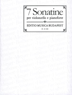 Pejtsik Arpad / Mariassy Istvan - 7 Sonatines for Cello and Piano - Sheet Music - di-arezzo.co.uk