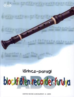 Lörincz / Paragi - ABC of the Soprano Recorder - Method - Sheet Music - di-arezzo.com