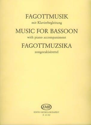 Laszlo Hara - Fagottmusik - Partition - di-arezzo.fr