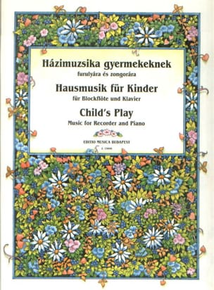 Child's Play – Recorder - Partition - laflutedepan.com