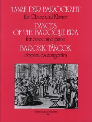 Tänze der Barockzeit -Oboe Klavier - Oliver Nagy - laflutedepan.com