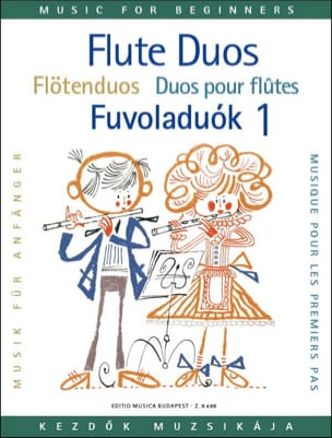 Laszlo Csupor - Flute duos for beginners - Volume 1 - Partition - di-arezzo.fr