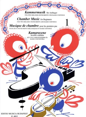 Istvan Mariassy - Chamber music for 1st steps, Volume 1 - Sheet Music - di-arezzo.co.uk