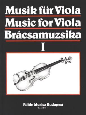 S. Gusztav Szeredi - Música para Viola, Volumen 1 - Partitura - di-arezzo.es