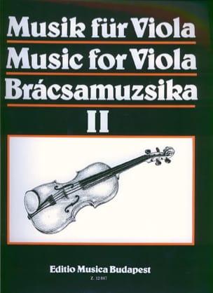Music for Viola, Volume 2 - S. Gusztav Szeredi - laflutedepan.com