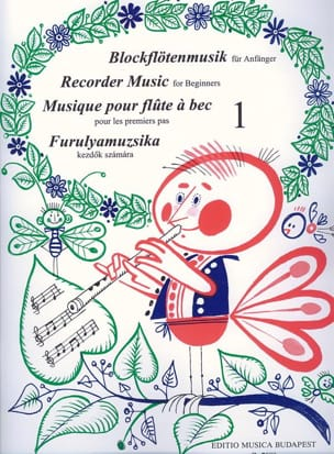 Laszlo Czidra - Music for the first steps - Volume 1 - Recorder - Sheet Music - di-arezzo.co.uk
