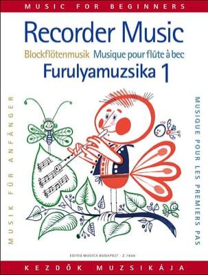 Laszlo Czidra - Musique pour les 1ers pas - Volume 1 - Flûte à bec - Partition - di-arezzo.fr