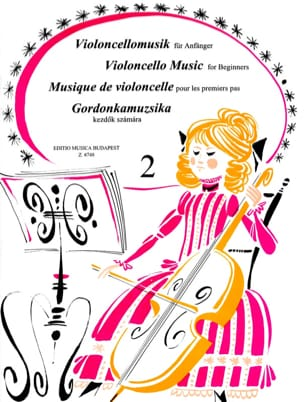 Lengyel Endre / Pejtsik Arpad - Music for the first steps, vol 2 - Cello - Sheet Music - di-arezzo.com