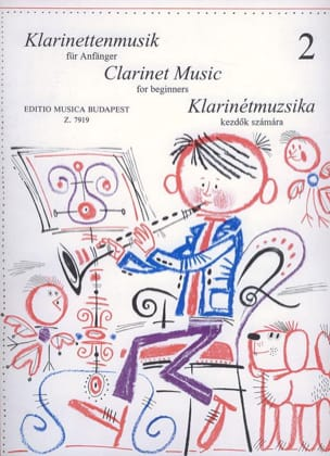 Kuszing Janos / Mariassy Istvan - Music for the first steps - Volume 2 - Clarinet - Sheet Music - di-arezzo.com