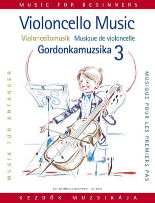 Arpad Pejtsik - Music for the first steps, Volume 3 - Cello - Sheet Music - di-arezzo.com