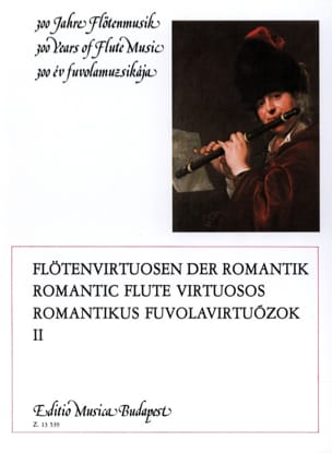 Lorant Kovacs - Romantic flute virtuosos – Volume 2 - Partition - di-arezzo.fr