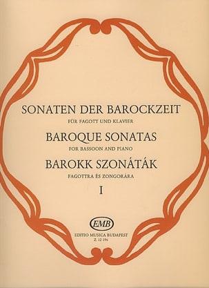 - Baroque Sonatas, Volume 1 - Sheet Music - di-arezzo.com