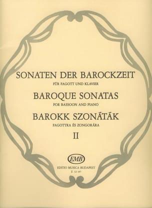Sonaten der Barockzeit - Bd. 2 - laflutedepan.com