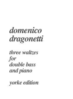 3 Waltzes for double bass and piano Domenico Dragonetti laflutedepan