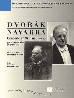 Antonin Dvorak - Cello Concerto in B Minor, Op. 104 Navarra) - Sheet Music - di-arezzo.co.uk