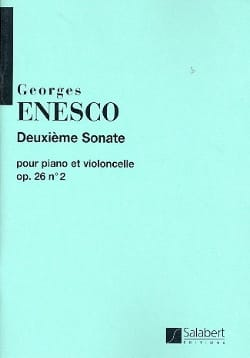 Georges Enesco - Sonata op. 26 n ° 2 ut major - Partitura - di-arezzo.es