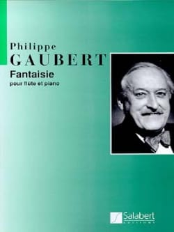 Philippe Gaubert - Fantasy - Flute and Piano - Sheet Music - di-arezzo.com
