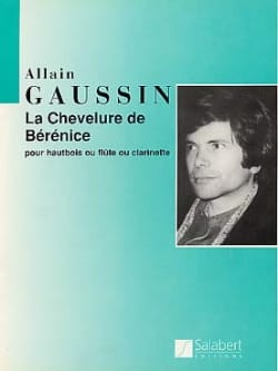 Alain Gaussin - The hair of Bérenice - Sheet Music - di-arezzo.co.uk