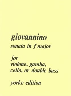 Sonata in F major - Giovannino - Partition - laflutedepan.com