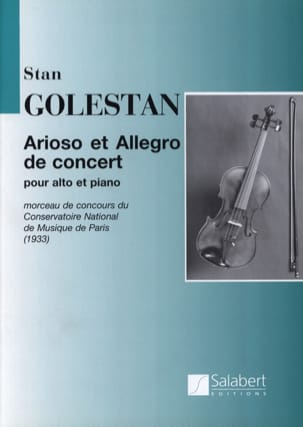 Stan Golestan - Arioso and Allegro in concert - Sheet Music - di-arezzo.co.uk