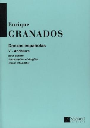 Danzas espanolas n° 5 : Andaluza GRANADOS Partition laflutedepan
