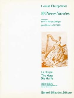 Louise Charpentier - 10 Different Pieces - Harp - Sheet Music - di-arezzo.co.uk