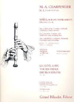 Marc-Antoine Charpentier - Noels Sur Les Instruments - Partition - di-arezzo.fr