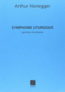 Symphonie liturgique HONEGGER Partition Grand format - laflutedepan