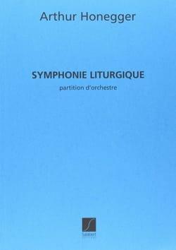 Arthur Honegger - Liturgical Symphony - Partition - di-arezzo.co.uk