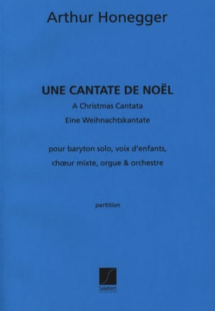 Arthur Honegger - A Christmas Cantata - Driver - Sheet Music - di-arezzo.co.uk