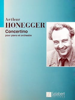 Arthur Honegger - Concertino pour piano - Conducteur - Partition - di-arezzo.fr