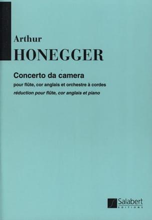 Concerto da camera HONEGGER Partition Trios - laflutedepan