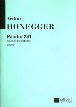 Pacific 231 - HONEGGER - Partition - Grand format - laflutedepan.com