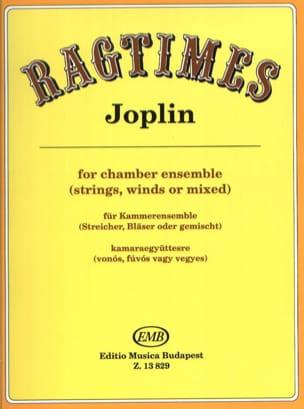 Ragtimes - Scott Joplin - Partition - laflutedepan.com