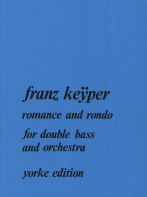 Franz Keyper - Romance and Rondo - Partition - di-arezzo.fr