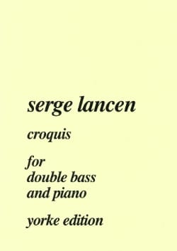 Serge Lancen - Sketch - Sheet Music - di-arezzo.co.uk