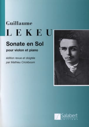 Guillaume Lekeu - Sonata in G major - Sheet Music - di-arezzo.co.uk