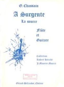 A Surgente - Olivier Chassain - Partition - Duos - laflutedepan.com