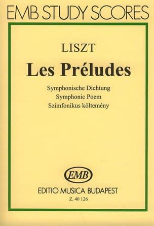Franz Liszt - Preludios - Partitura - di-arezzo.es