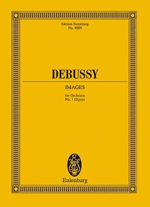 Gigues Images n° 1 - Conducteur - DEBUSSY - laflutedepan.com