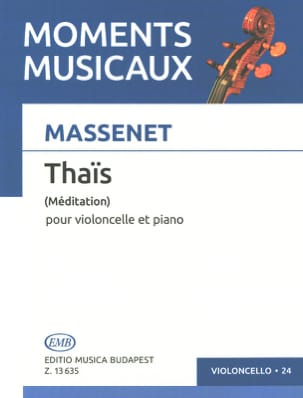 Jules Massenet - Thai meditation - Cello - Sheet Music - di-arezzo.co.uk