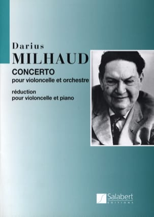 Darius Milhaud - Cello Concerto - Sheet Music - di-arezzo.co.uk