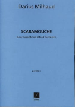Scaramouche - Conducteur Darius Milhaud Partition laflutedepan