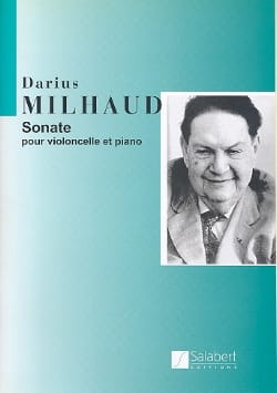 Darius Milhaud - Sonata - Cello - Sheet Music - di-arezzo.com