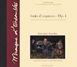 Suite d'esquisses opus 1 – CD - John Patrick Millow - laflutedepan.com