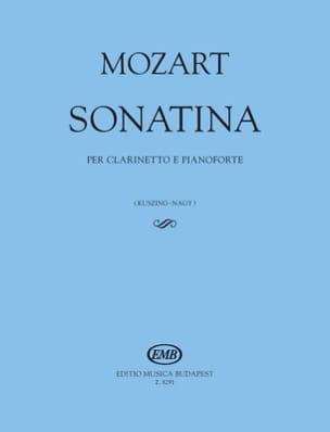 Sonatine - Clarinette et Piano - laflutedepan.com